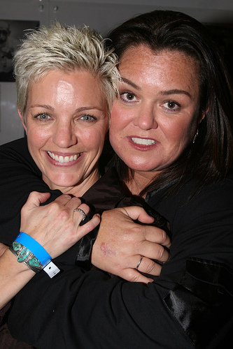 Rosie O'Donnell and wife Kelli Carpenter